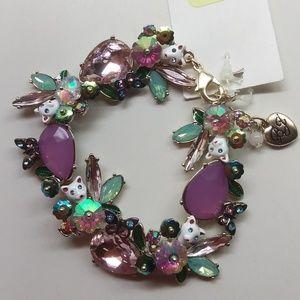 Betsey Johnson New Kitty Bracelet